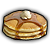 A Stack of Pancakes (Consumable) - Hey, it's even complete with syrup and butter. *You realize you can eat this.*