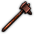Chocolate Hammer (Weapon) - Guaranteed to give your enemies and their teeth a bad time.